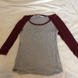 Elbow Cut Long Sleeve Shirt